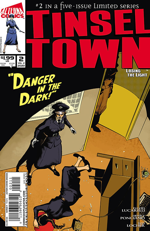Tinseltown: Losing the Light #2 (of 5)