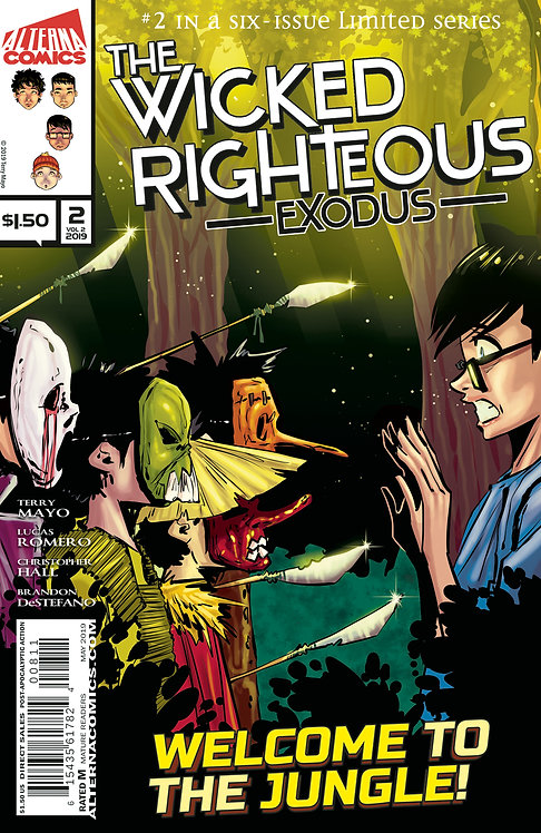 The Wicked Righteous Vol.2 Exodus #2 (of 6)