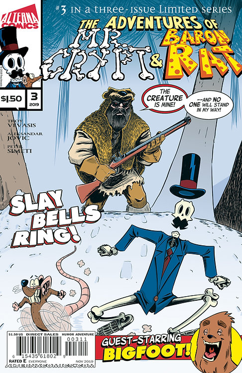 Mr. Crypt and Baron Rat #3 (of 3)