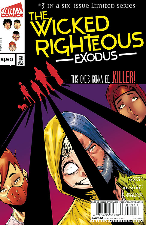 The Wicked Righteous Vol.2 Exodus #3 (of 6)