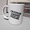 "Thumbnail: ""Caution: Contents Inside Are Awesome"" Mug"