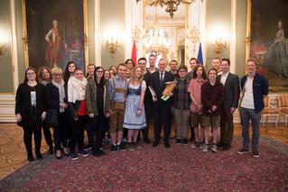 Unser Besuch beim Bundespräsidenten Alexander Van der Bellen