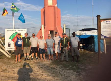 Equipe de Radioescotismo participa de evento em Cidreira