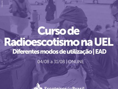 Curso de Radioescotismo na UEL - Diferentes modos de utilização | EAD