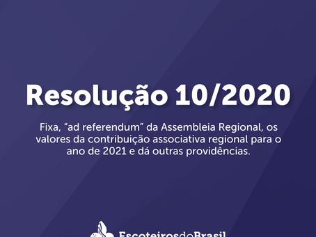 Resolução 10/2020