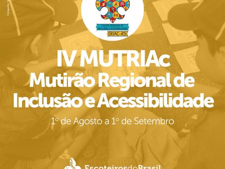 IV Mutriac - IV Mutirão Regional de Inclusão e Acessibilidade