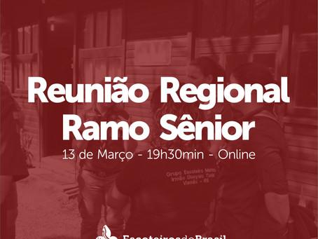 Reunião Regional do Ramo Sênior