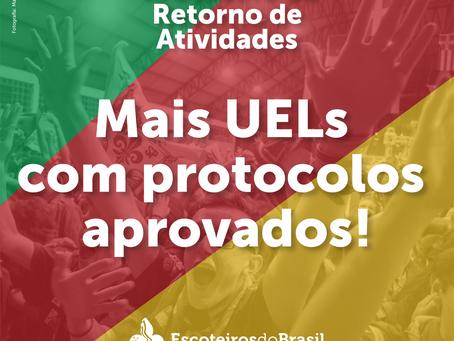 Unidades Escoteiras Locais com Protocolo de Retorno às Atividades aprovado!