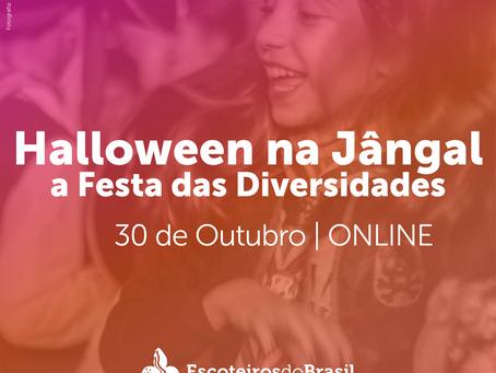 Halloween na Jângal: Festa das Diversidades