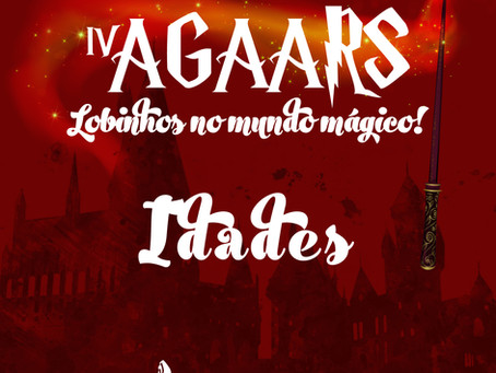 Informativo IV AGAARS | Idades máximas de participação.