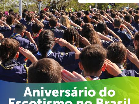 111 anos de Escotismo no Brasil
