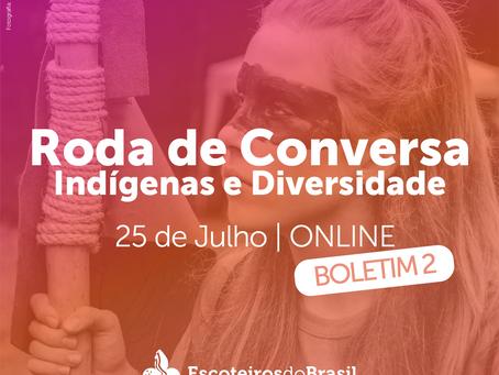 Roda de Conversa: Indígenas e Diversidade - Boletim 2