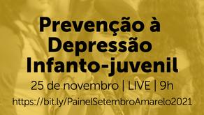 Acompanhe o Painel sobre prevenção à depressão infanto-juvenil