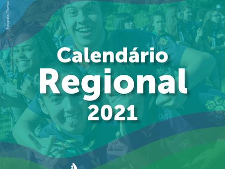Calendário Regional 2021