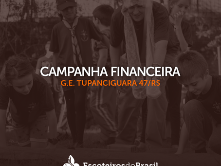 Campanha financeira do G.E. Tupanciguara 47/RS