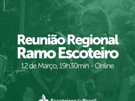 Reunião Regional do Ramo Escoteiro