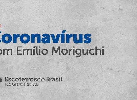 Live sobre o Coronavírus no Rio Grande do Sul
