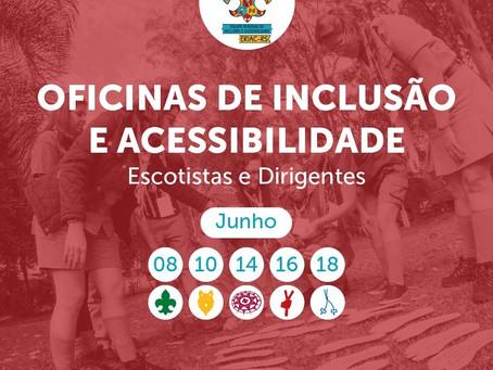 Oficinas de Inclusão e Acessibilidade 2021