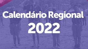 Calendário Regional 2022
