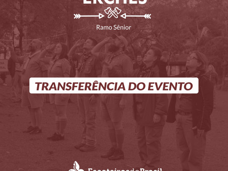 ERCHES 2020 | Transferência do Evento