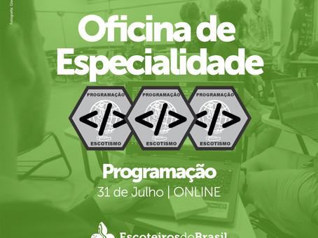 Oficina de especialidade - Programação