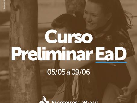 Curso Preliminar EaD - 05/05 a 09/06