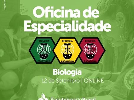 Oficina de Especialidade - Biologia