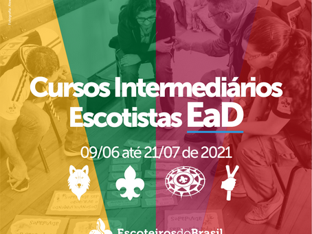 Cursos Intermediários EaD - 09/06 a 21/07