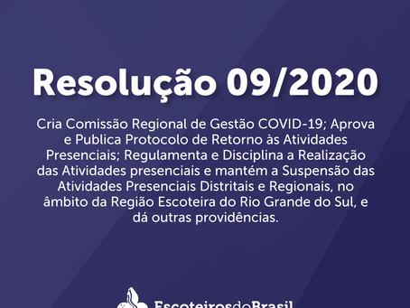 RESOLUÇÃO 09/2020