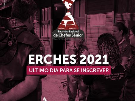 Último dia de inscrição para o ERCHES 2021