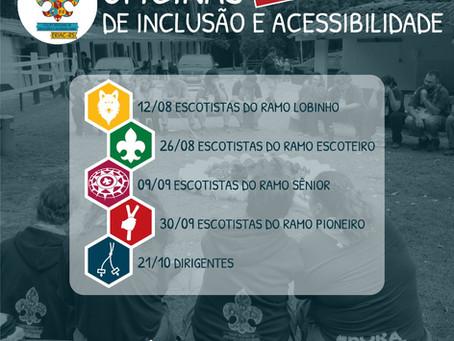Oficinas Online de Inclusão e Acessibilidade