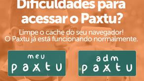 Não consegue acessar o Paxtu?
