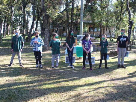 Retorno às atividades presenciais do Grupo Escoteiro Alberto Mattioni 79/RS