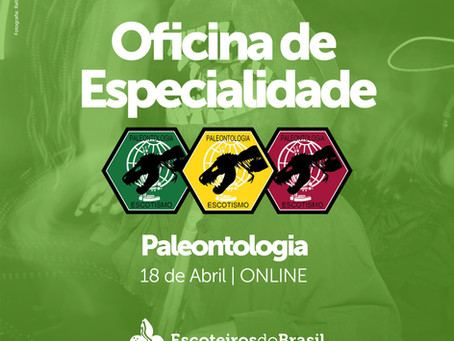 Oficina de Especialidade - Paleontologia