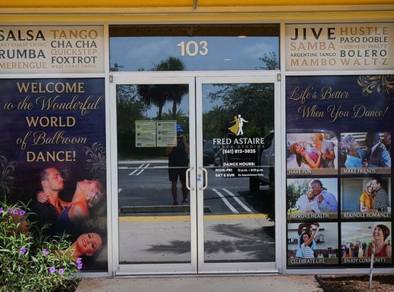 Perforated  Window Graphics