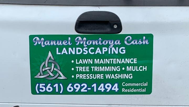 Landscaping Magnet