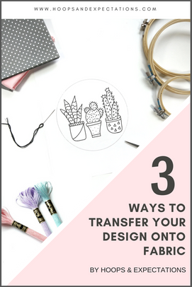 3WAYS TO TRANSFER YOUR DESIGN