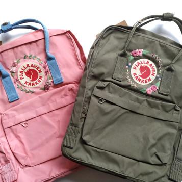 Embroidery Kanken Backpack