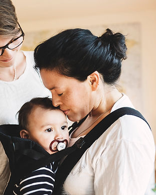 Mütter und ihr Baby