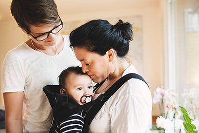 Les mères et leur bébé
