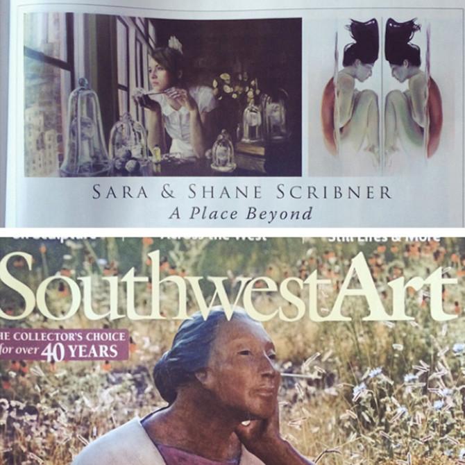 Southwest Art Magazine, July 2014