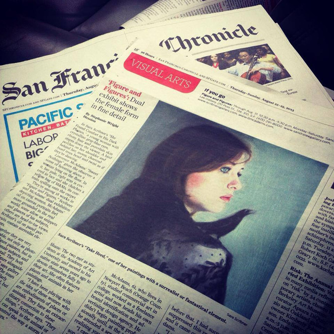 Figure & Figures in the San Francisco Chronicle!