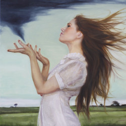 ByHer Hand the Wind Danced & Swirled