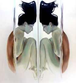 Reflective (diptych)