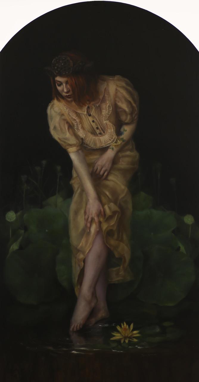 At Her Feet A Garden