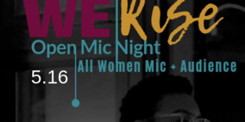 We Rise, A Women's Open Mic Night (Bridgeport)