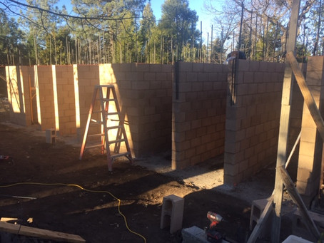 Skyland Main Restroom Progress