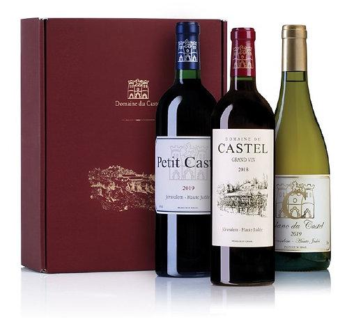 Castel 3 bottles box