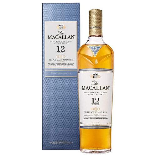 Macallan 12 Years Triple Cask 700 ml