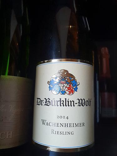 Dr. Burklin Wolf Wachenheimer 2014